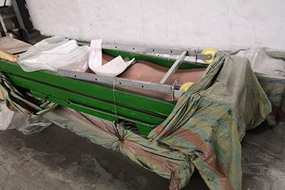车载便携皮带输送机220V单