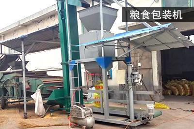 粮食自动定量包装机